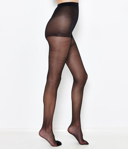Lot de 2 collants voile femme