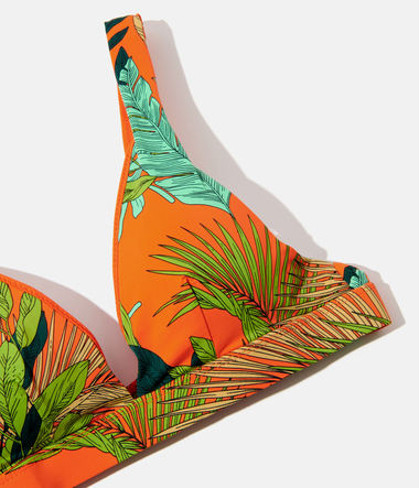 Haut de maillot de bain Triangle Tropical