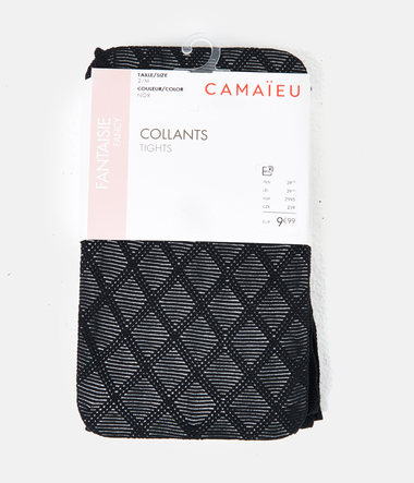 Collants losanges femme