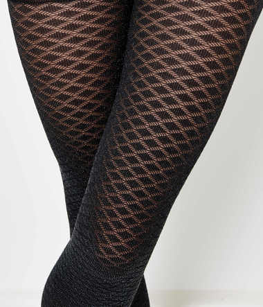 Collants brillants femme