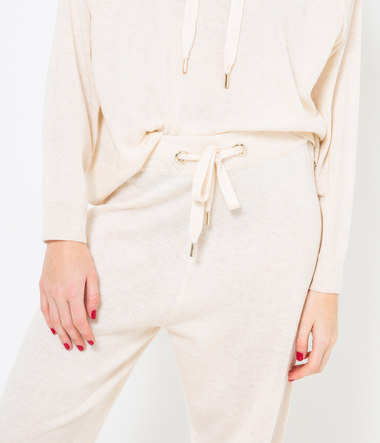 Jogger maille tricot femme