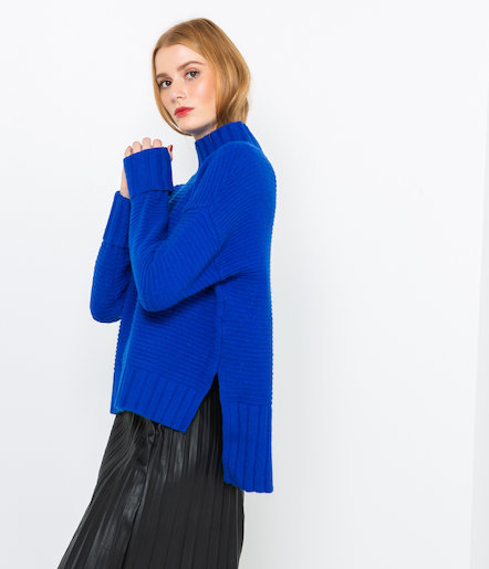 Pull maille tricotée femme