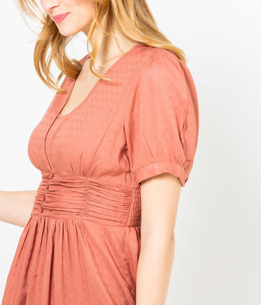 Robe taille empire