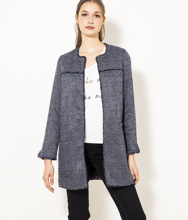 manteau court femme lainage black friday