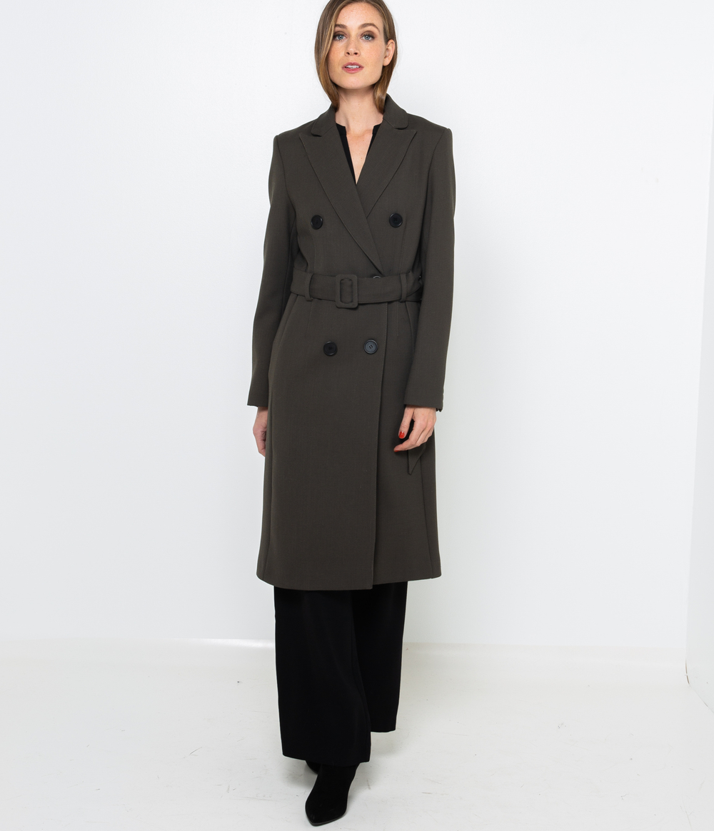 Manteau trench femme